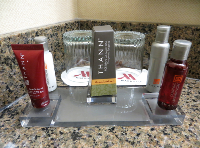 Newark Airport Marriott Hotel Review - THANN Bath Products