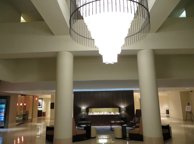 Newark Airport Marriott Hotel Review - Lobby