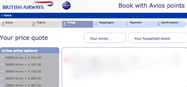 One Way Award Travel Us Airways