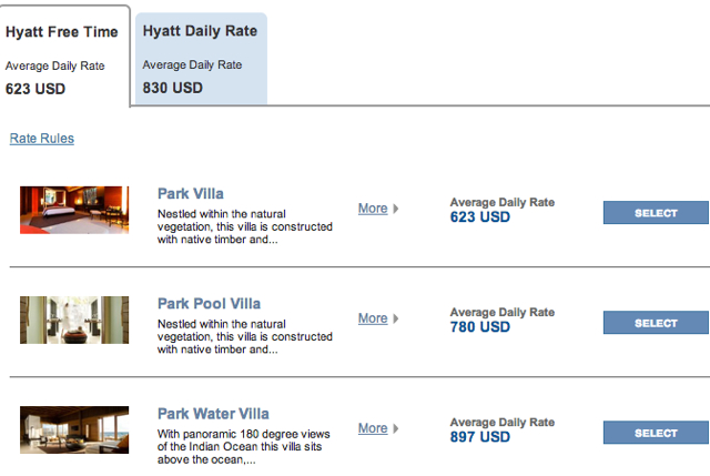 Park Hyatt Maldives Confirmed Double Upgrade to Water Villa Combines with Hyatt Free Time Offer