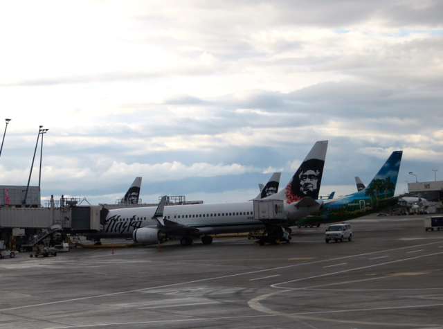 Alaska Airlines Board Room Lounge Review - View