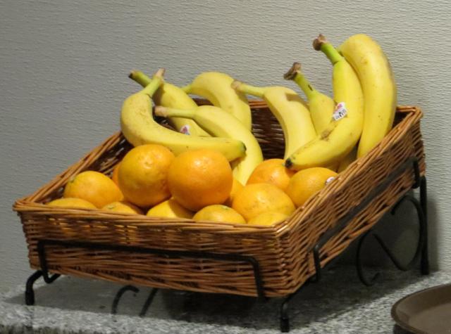 Alaska Airlines Board Room Lounge Review - Fresh Fruit