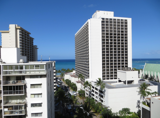 Hyatt Place Waikiki Beach Review - View from Ocean View Room
