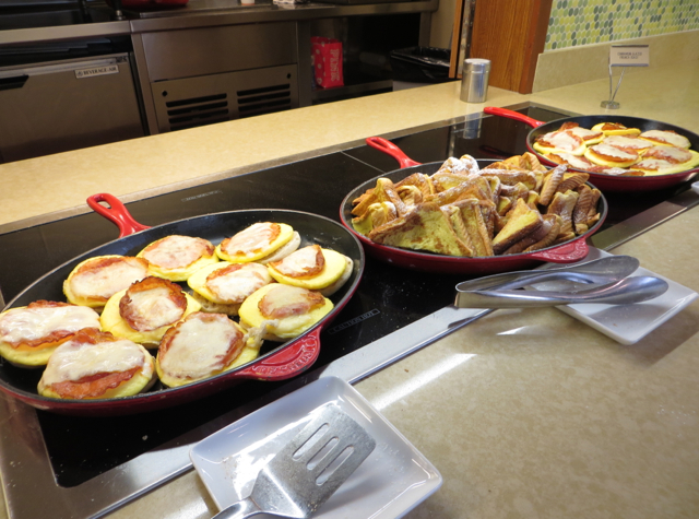Hyatt Place Waikiki Beach Review - Breakfast Sandwiches and French Toast