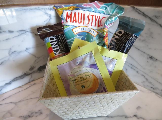 Andaz Maui at Wailea Review - Complimentary Snacks