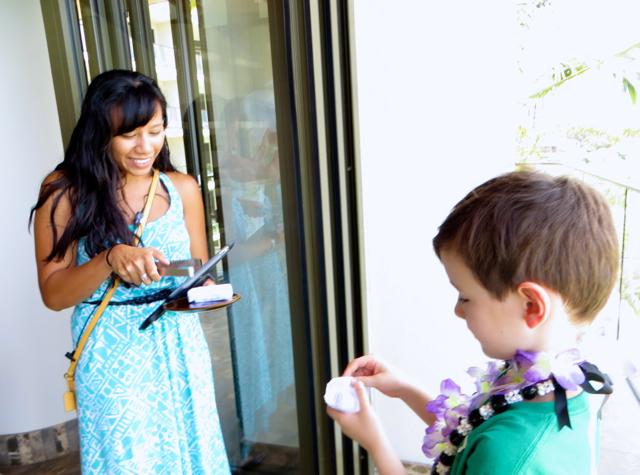 Andaz Maui at Wailea Review - Refreshing Towel
