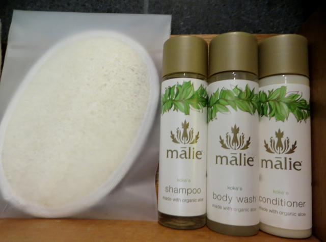 Andaz Maui at Wailea Review-Malie Bath Products