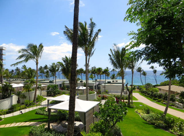 Andaz Maui at Wailea Review - View from Suite