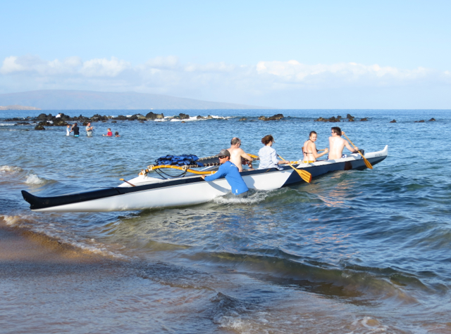 Andaz Maui at Wailea Review - Outrigger Canoe Paddling