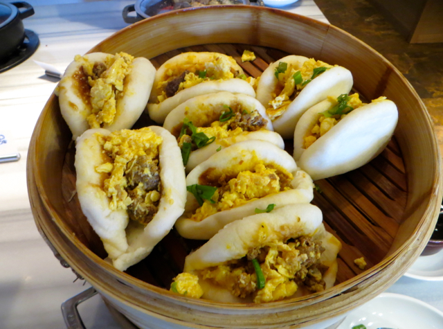Steamed Pork Buns, Ka'ana Kitchen Breakfast