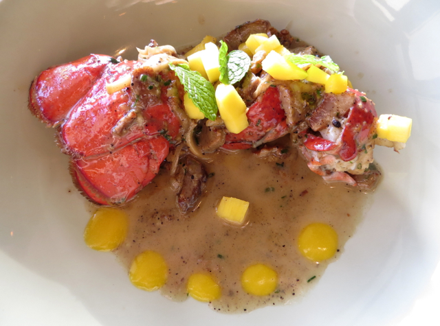Lobster with Mango and Black Pepper Sauce, Ka'ana Kitchen