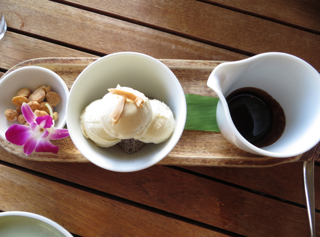 Ka'ana Kitchen Review and Andaz Maui at Wailea Dining-Coconut Sundae