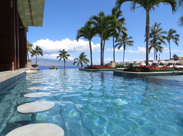 Four Seasons Maui at Wailea Review - Adults Only Serenity Pool