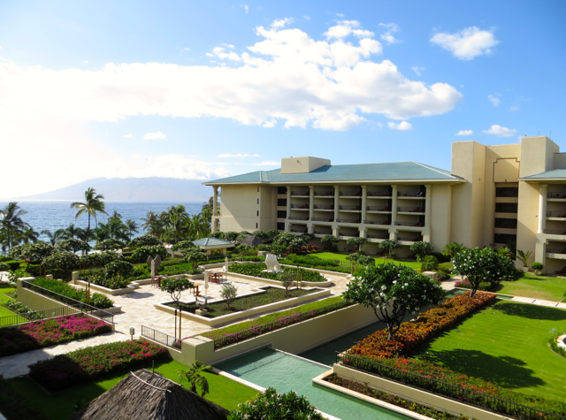 Four Seasons Maui at Wailea Review - View from Ocean View Room