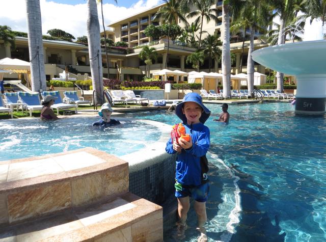 Four Seasons Maui at Wailea Review - Fountain Pool