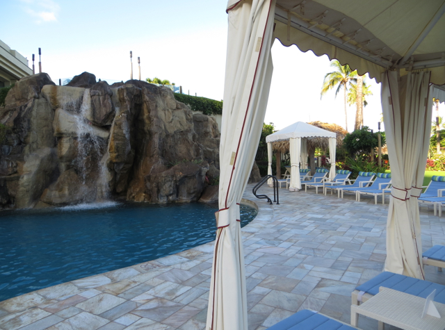 Four Seasons Maui at Wailea Review - Waterfall Pool for Young Kids