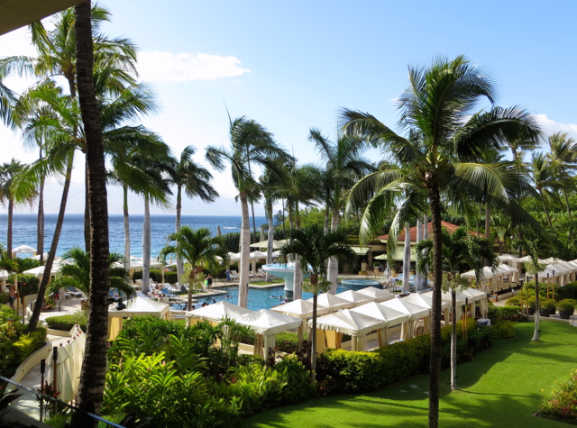 Four Seasons Maui Wailea Review - View From Lobby