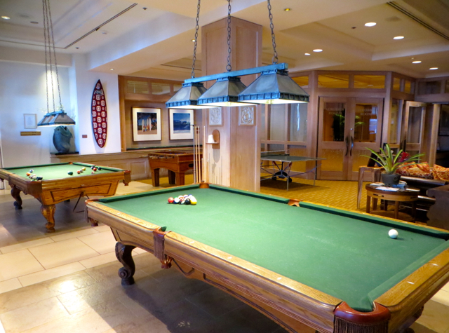 Four Seasons Maui at Wailea Review - Games Room