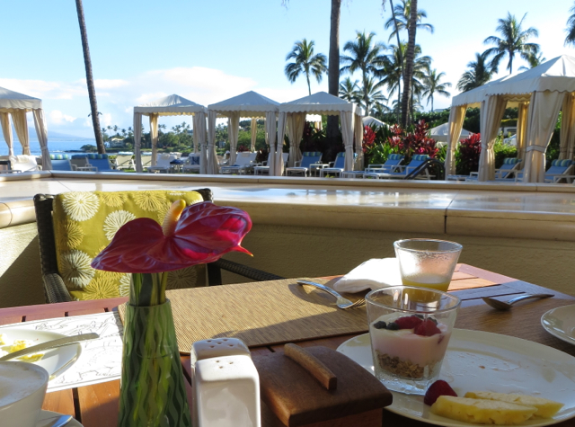Breakfast at DUO Four Seasons Maui Review