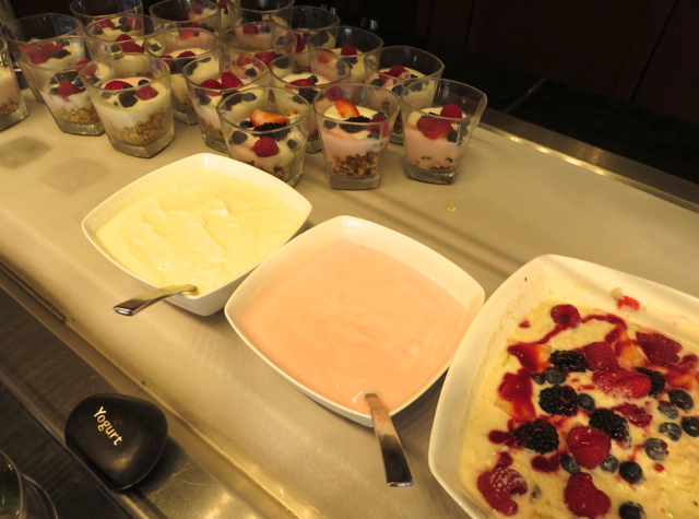 Yogurt Parfaits, Breakfast at DUO, Four Seasons Maui at Wailea