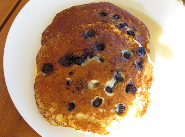 Blueberry Pancakes, Breakfast at DUO, Four Seasons Maui
