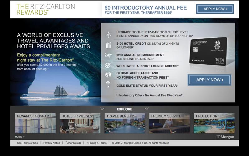 Ritz-Carlton Rewards Card: 70K Bonus Points No Annual Fee Offer Worth It?
