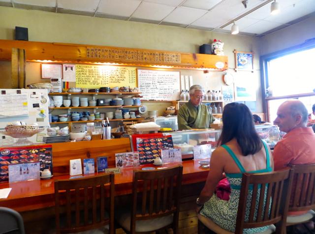 Koiso Sushi Bar in Kihei, Maui