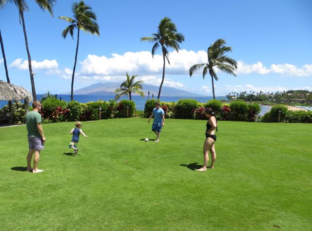 Four Seasons Maui at Wailea Review - Beautiful Lawn