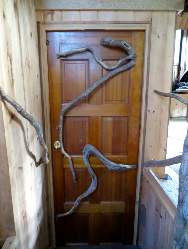 Hawaii Volcano Treehouse Review - Front Door