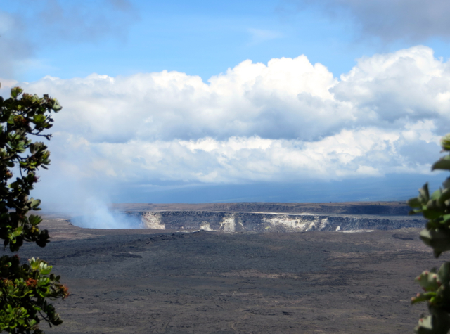 Hawaii Volcanoes National Park: Kilauea Crater