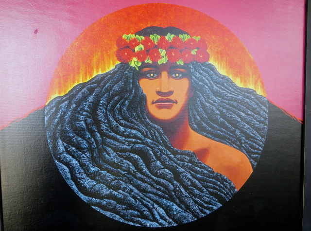 Pele, Goddess of the Volcano