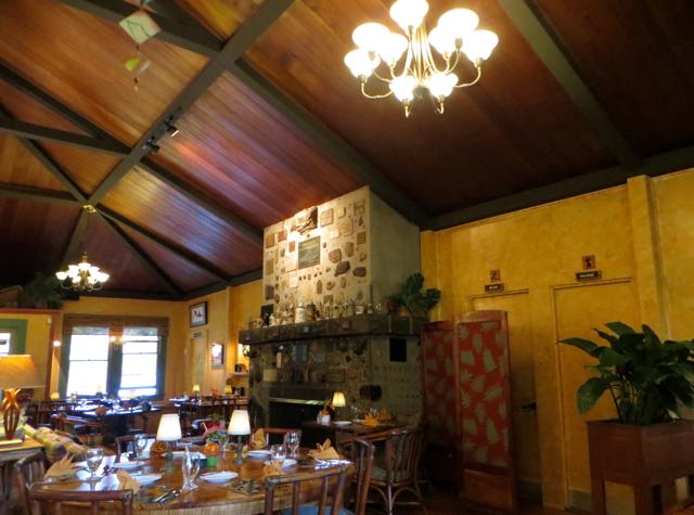 Kilauea Lodge Restaurant Review-Volcano Area, Hawaii