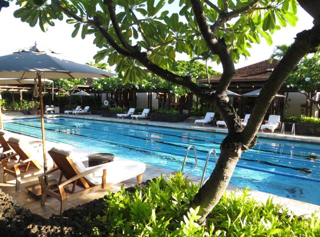 Four Seasons Hualalai Review - Lap Pool