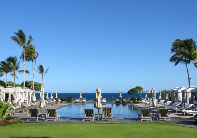 Beach Tree Pool, Four Seasons Hualalai