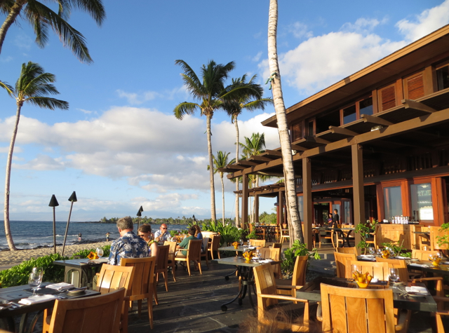 'ULU Ocean Grill Review and Four Seasons Hualalai Dining