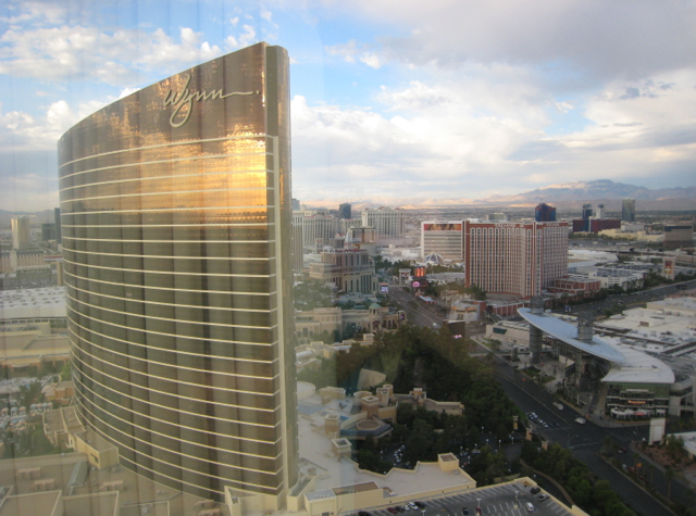 View from Panoramic Suite, Encore at Wynn Las Vegas