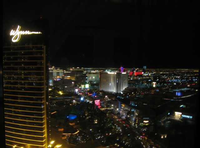 Panoramic Suite View at Night, Encore at Wynn Las Vegas