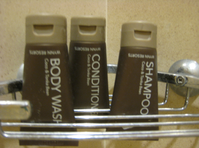 Encore at Wynn Las Vegas Review - Bath Products by Molton Brown