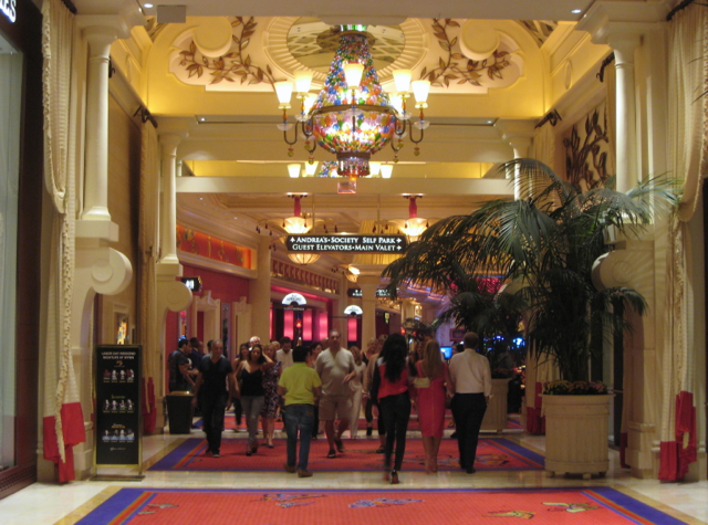 Hallway Leading to Casino, Encore at Wynn Las Vegas
