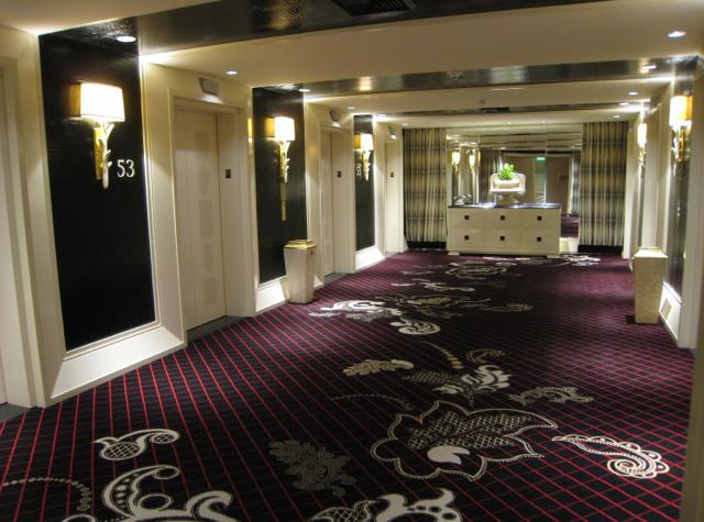 Encore at Wynn Las Vegas Review - Hallway