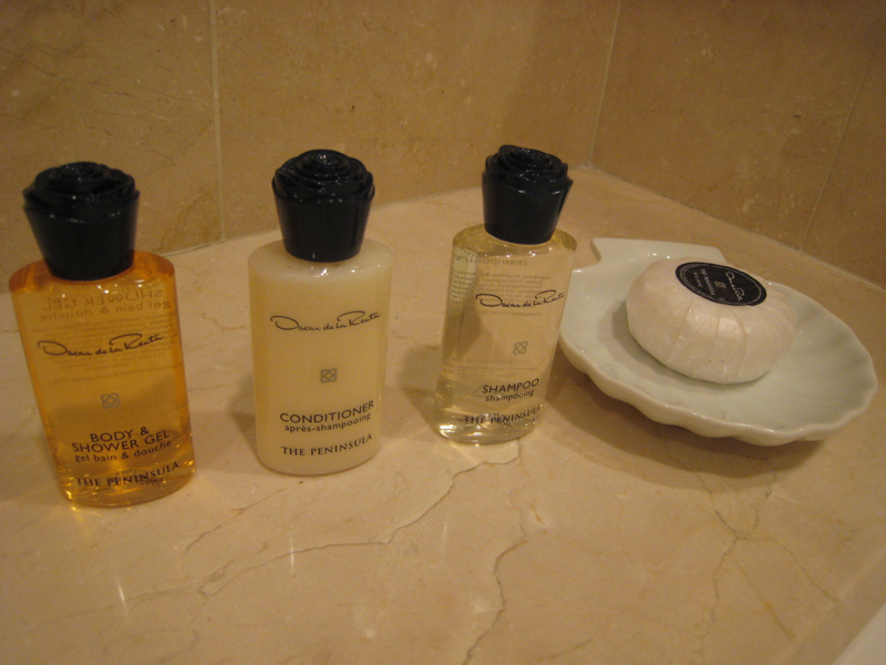 The Peninsula New York Review - Oscar de la Renta Bath Products