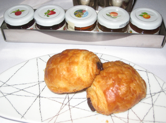 Pain au Chocolat and d'Arbo Jams, Clement