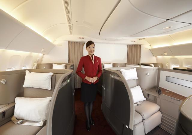 Cathay Pacific First Class Boston to Hong Kong Flights Coming