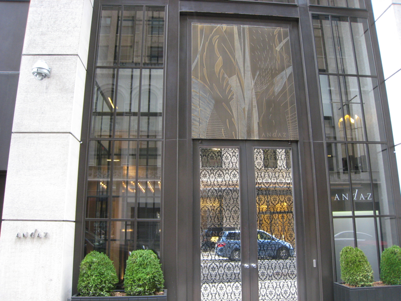 Hotel Review: Andaz Fifth Avenue, NYC