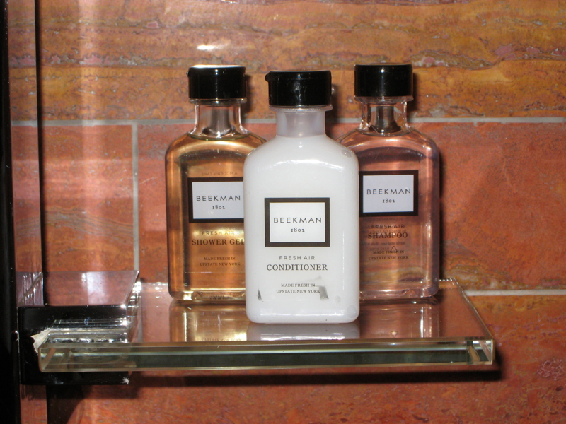 Review: Andaz 5th Avenue, NYC: Beekman 1802 Bath Products