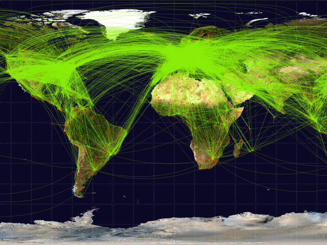 Airline Hubs by Airline and Alliance