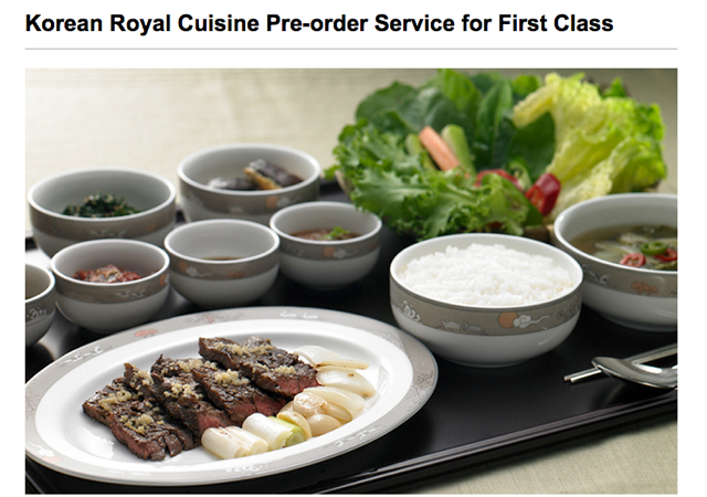 Best airlines to pre order meals for Asiana korean cuisine restaurant racine