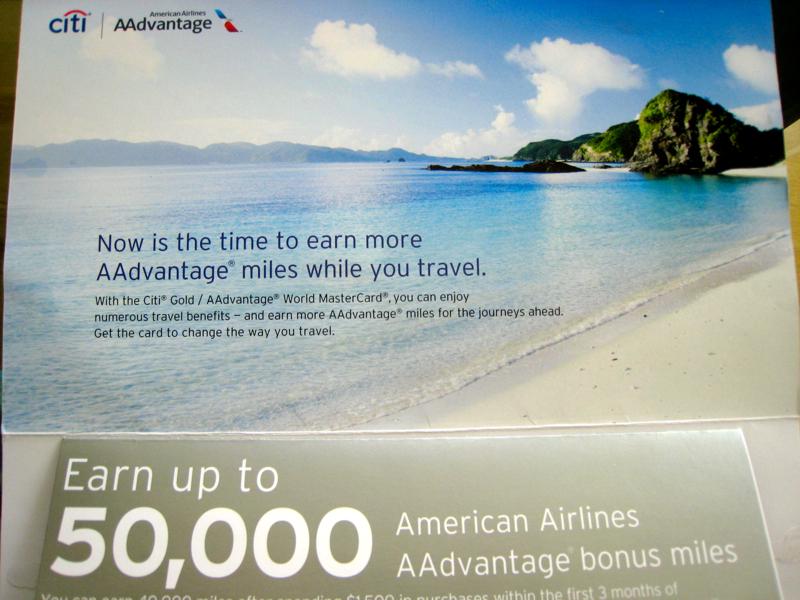 50K Citi Gold AAdvantage Bonus Offer (Targeted)