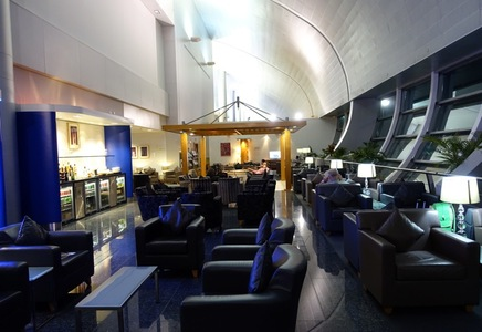Review British Airways Galleries Lounge Dubai Travelsort