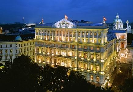 Best vienna luxury hotels travelsort for Luxury hotel packages
